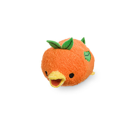 Orange Bird ''Tsum Tsum'' Plush - Adventureland - Mini - 3 1/2''