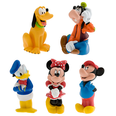 Mickey Mouse and Friends Squeeze Toy Set