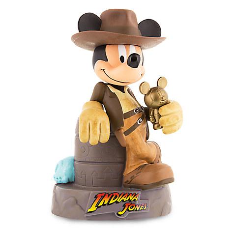 Mickey Mouse as Indiana Jones Coin Bank