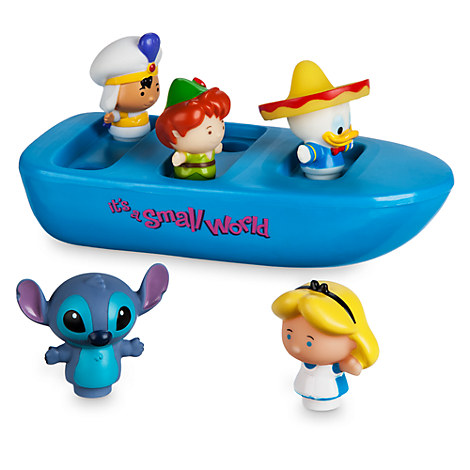 ''it's a small world'' Bathtub Boat Set