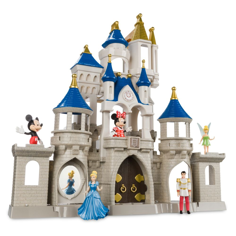 disney walt disney world cinderella castle musical snowglobe new with box