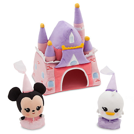 Minnie Mouse Castle Plush Playset