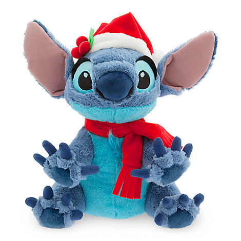 Santa Stitch Plush - Medium - 12''