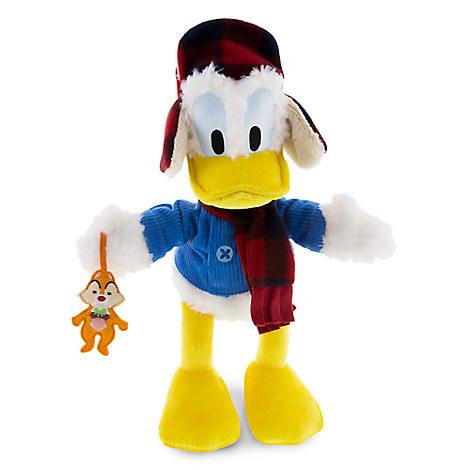 Donald Duck Plush with Dale - Medium - 15''