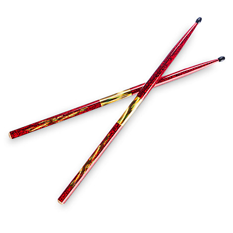 Rock 'n Roller Coaster Drumsticks - Red