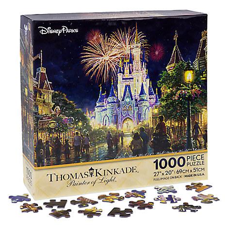Main Street USA Walt Disney World Resort Puzzle by Thomas Kinkade