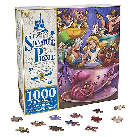 Alice in Wonderland 65th Anniversary Jigsaw Puzzle