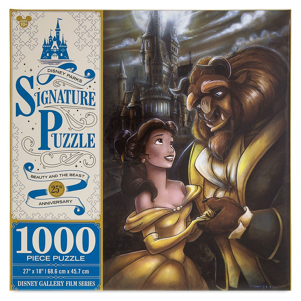 Beauty and the Beast 25th Anniversary Jigsaw Puzzle