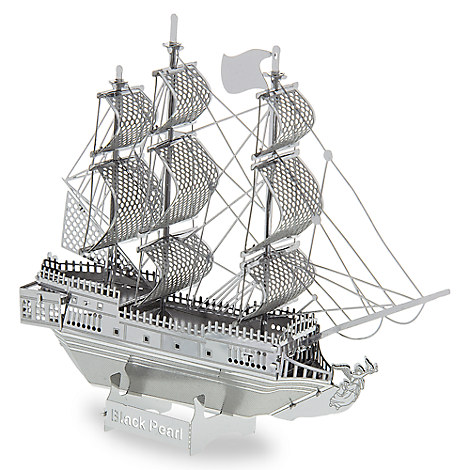 Black Pearl Metal Earth 3D Model Kit