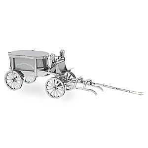 Haunted Mansion Hearse Metal Earth 3D Model Kit
