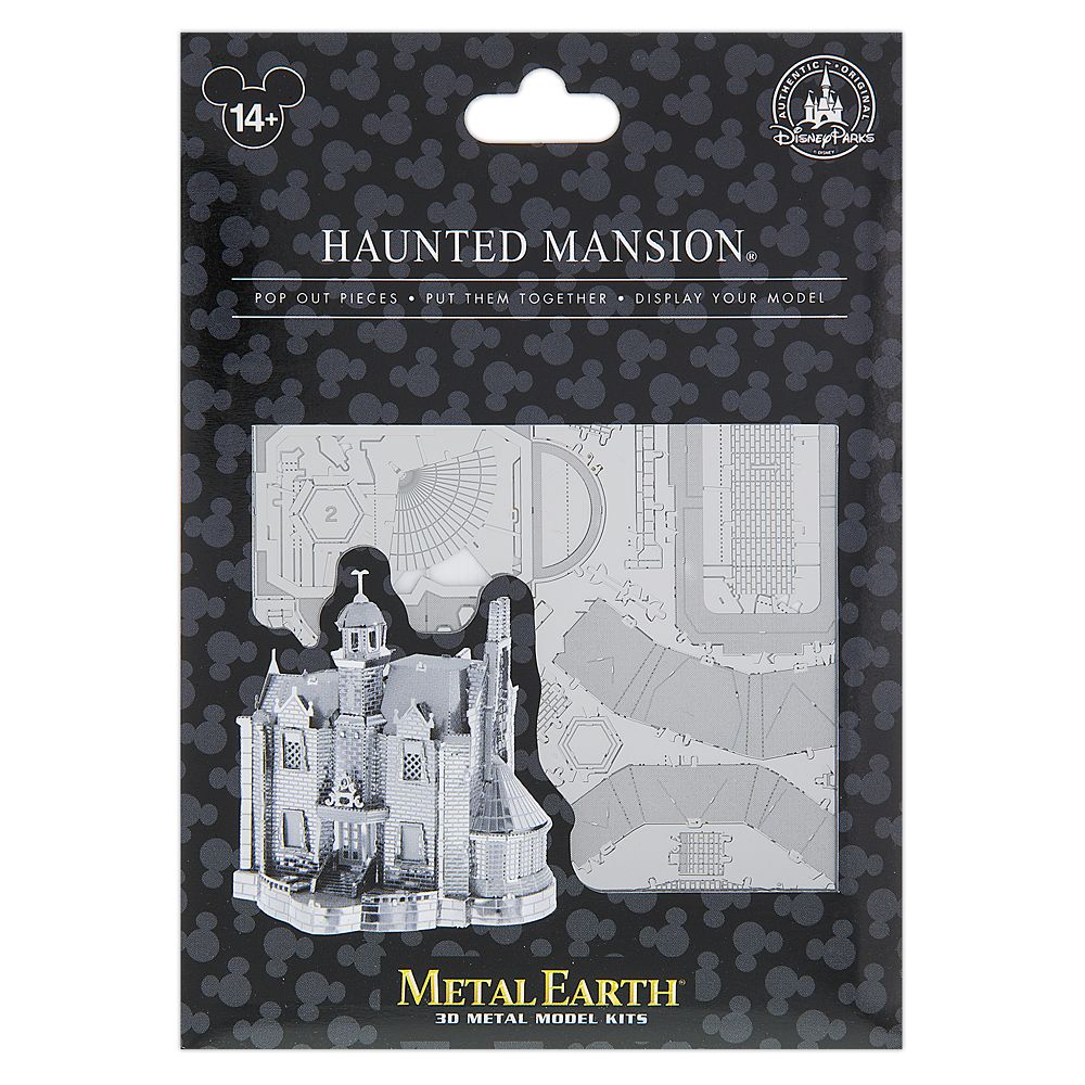 Haunted Mansion Metal Earth 3D Model Kit – Walt Disney World