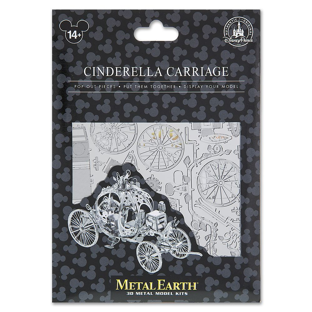 Cinderella Carriage Metal Earth 3D Model Kit