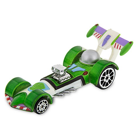Buzz Lightyear Disney Racers Die Cast Car