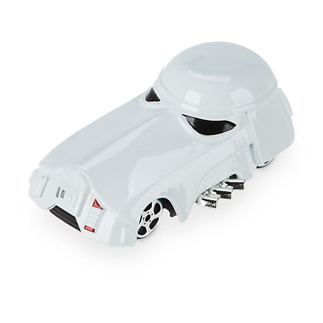 Snowtrooper Die Cast Disney Racers - Star Wars: The Force Awakens