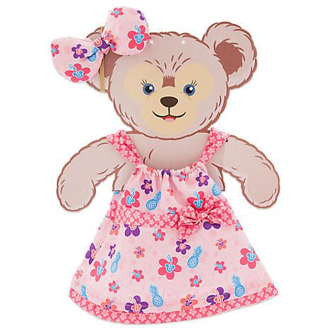 ShellieMay the Disney Bear Aloha Wear Costume - Aulani, A Disney Resort & Spa - 17''