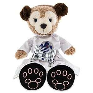 ShellieMay the Disney Bear Princess Leia Costume and R2-D2 plush – 17""