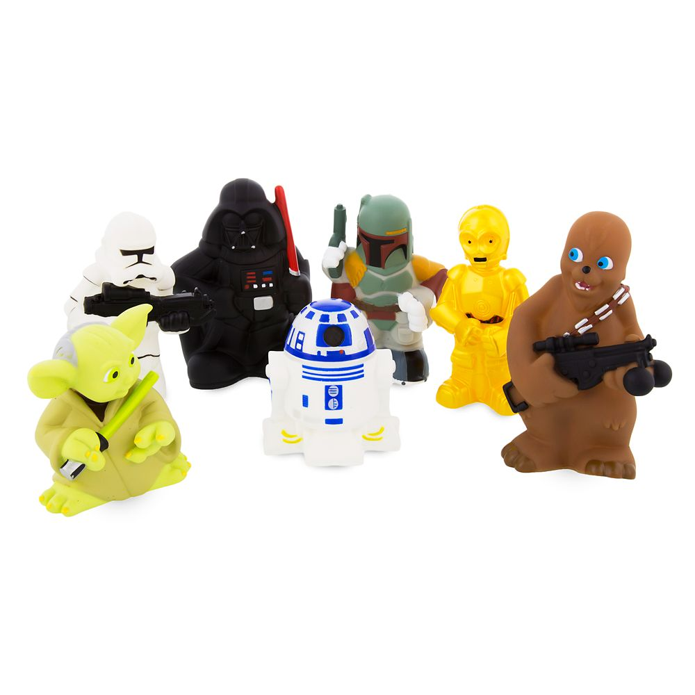 Star Wars Squeeze Toy Set