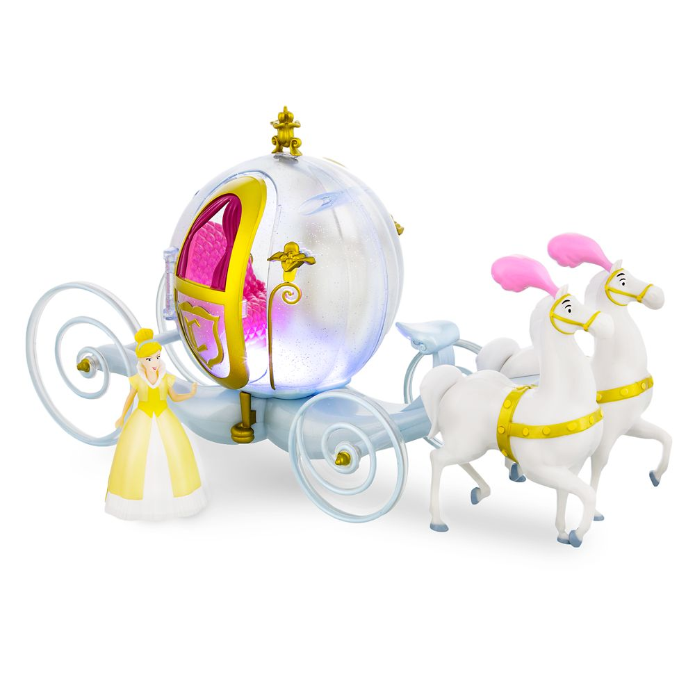 Cinderella Horse and Carriage Play Set