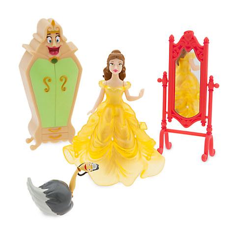 Belle Light-Up Dress Figure Play Set