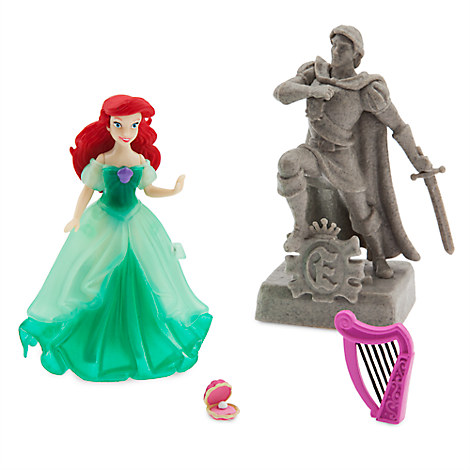 Ariel Light-Up Dress Figure Play Set