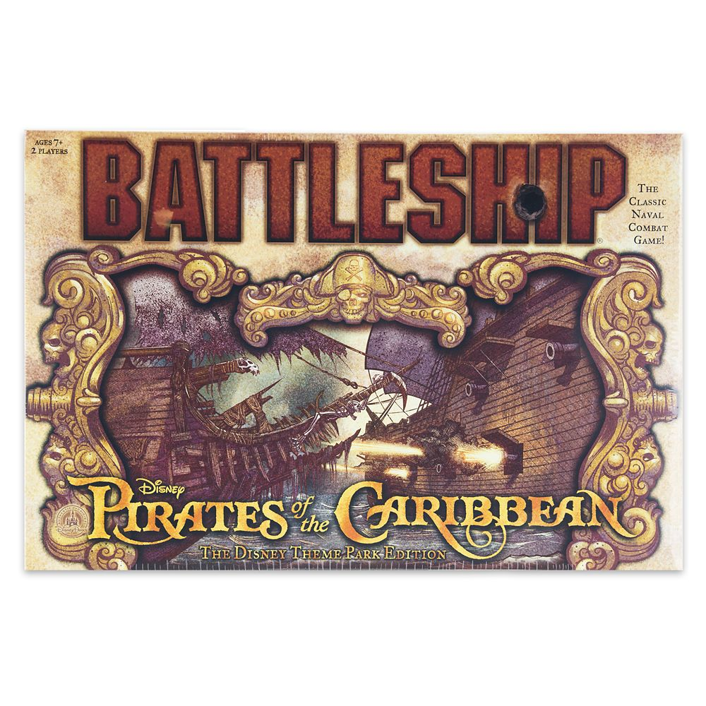 Pirates of the Caribbean Battleship Game