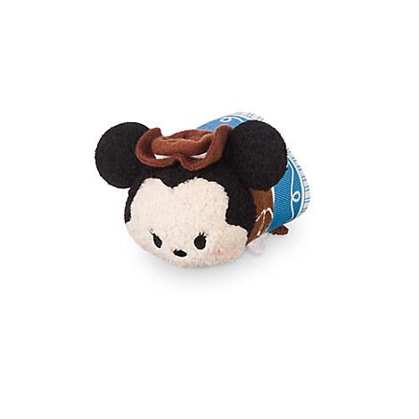Minnie Mouse ''Tsum Tsum'' Plush - Frontierland - Mini - 3 1/2''