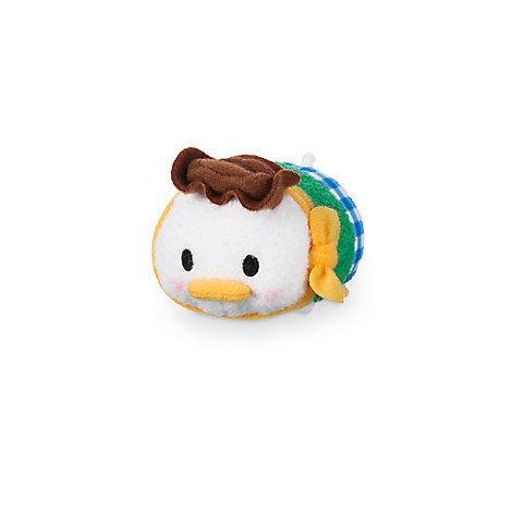 Donald Duck ''Tsum Tsum'' Plush - Frontierland - Mini - 3 1/2''