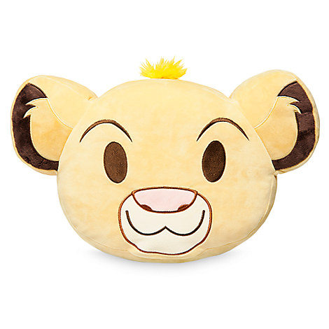 Simba Emoji Pillow