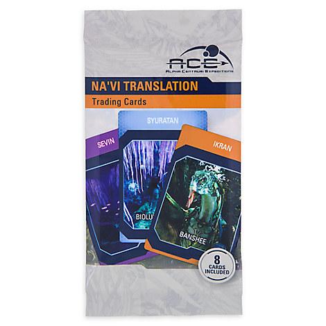 Pandora - The World of Avatar Na'vi Translation Trading Cards