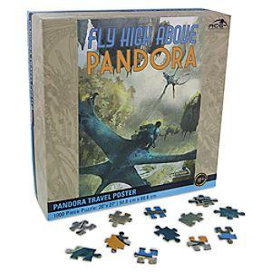 Disney Store Pandora Travel Poster Puzzle