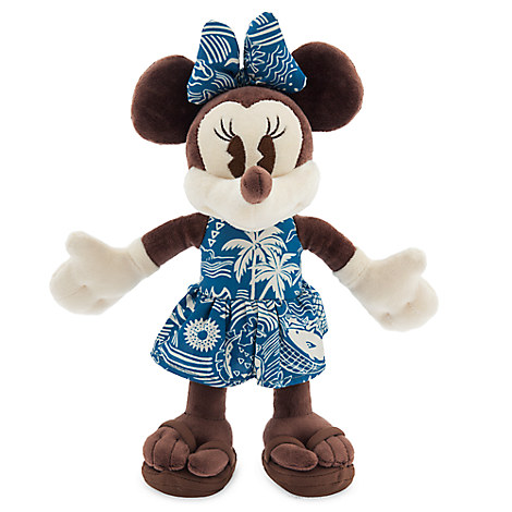 Minnie Mouse Plush - Aulani, A Disney Resort & Spa - Small - 9''
