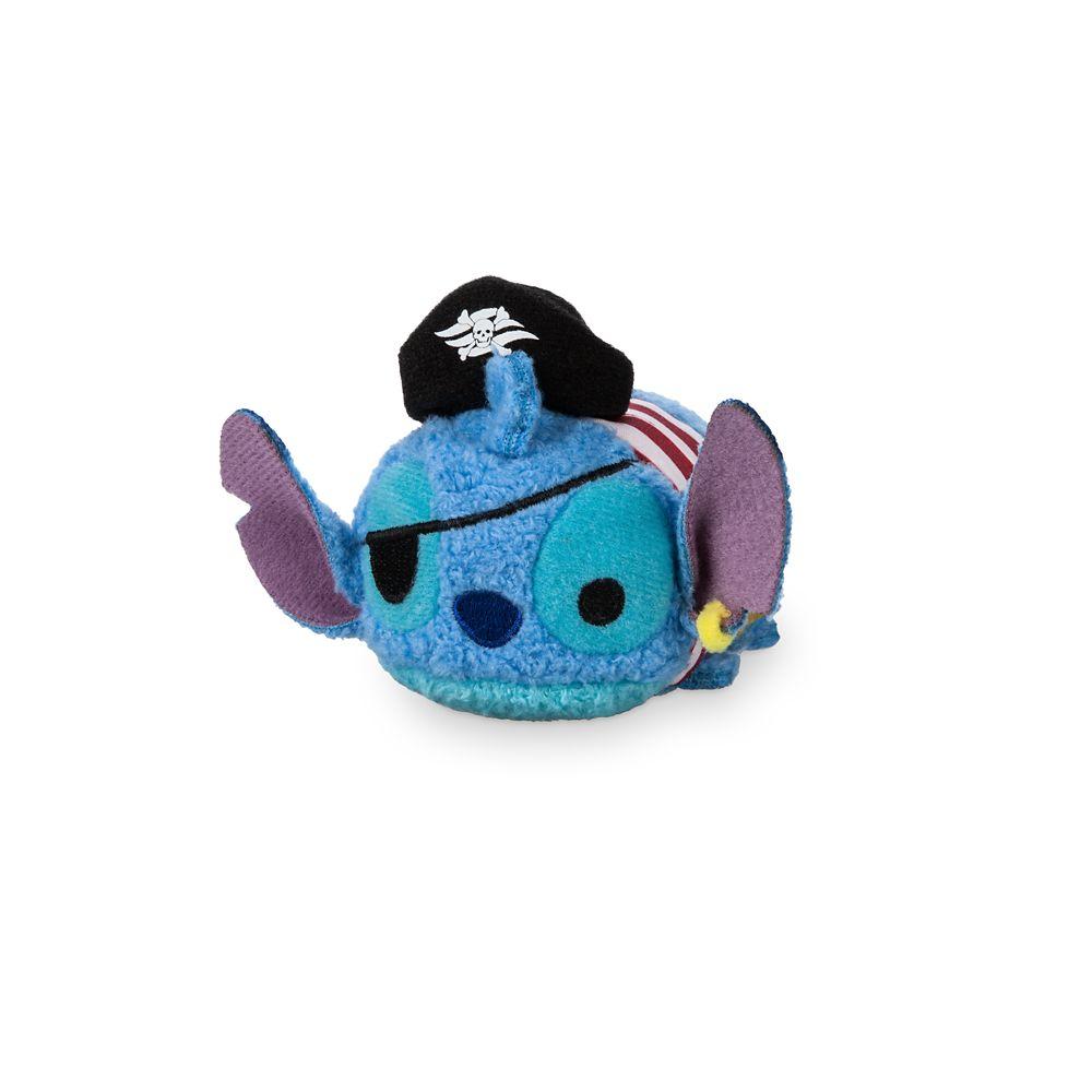 Pirate Stitch ''Tsum Tsum'' Plush – Disney Cruise Line – Mini