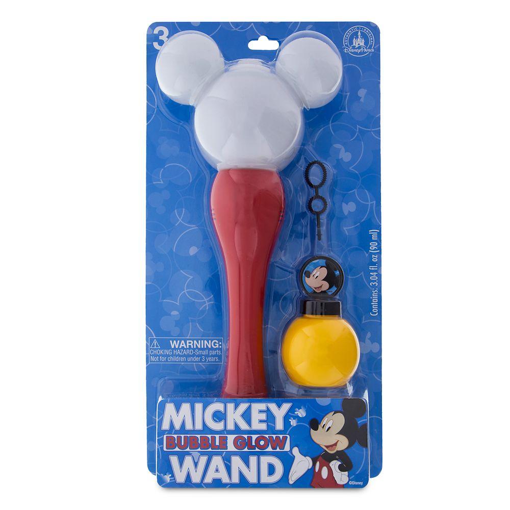 Mickey Mouse Glowing Bubble Wand