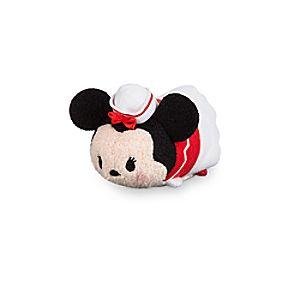Minnie Mouse ''Tsum Tsum'' Plush - Disney Cruise Line - Mini - 3 1/2''