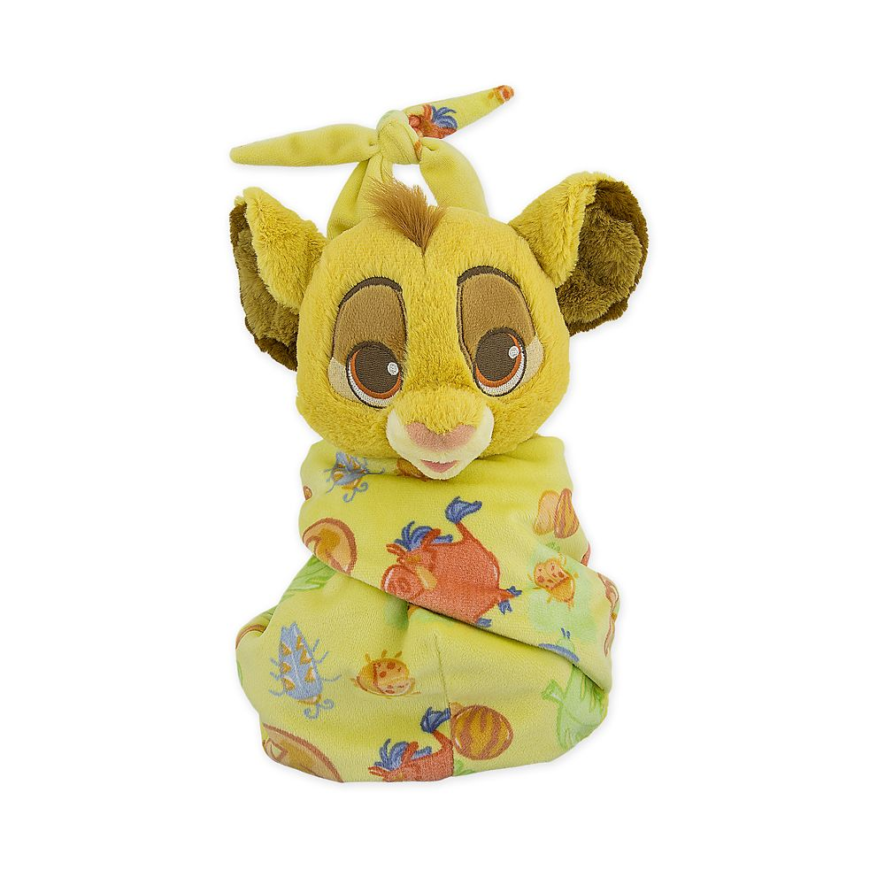 Simba Plush in Pouch – Disney Babies – Small