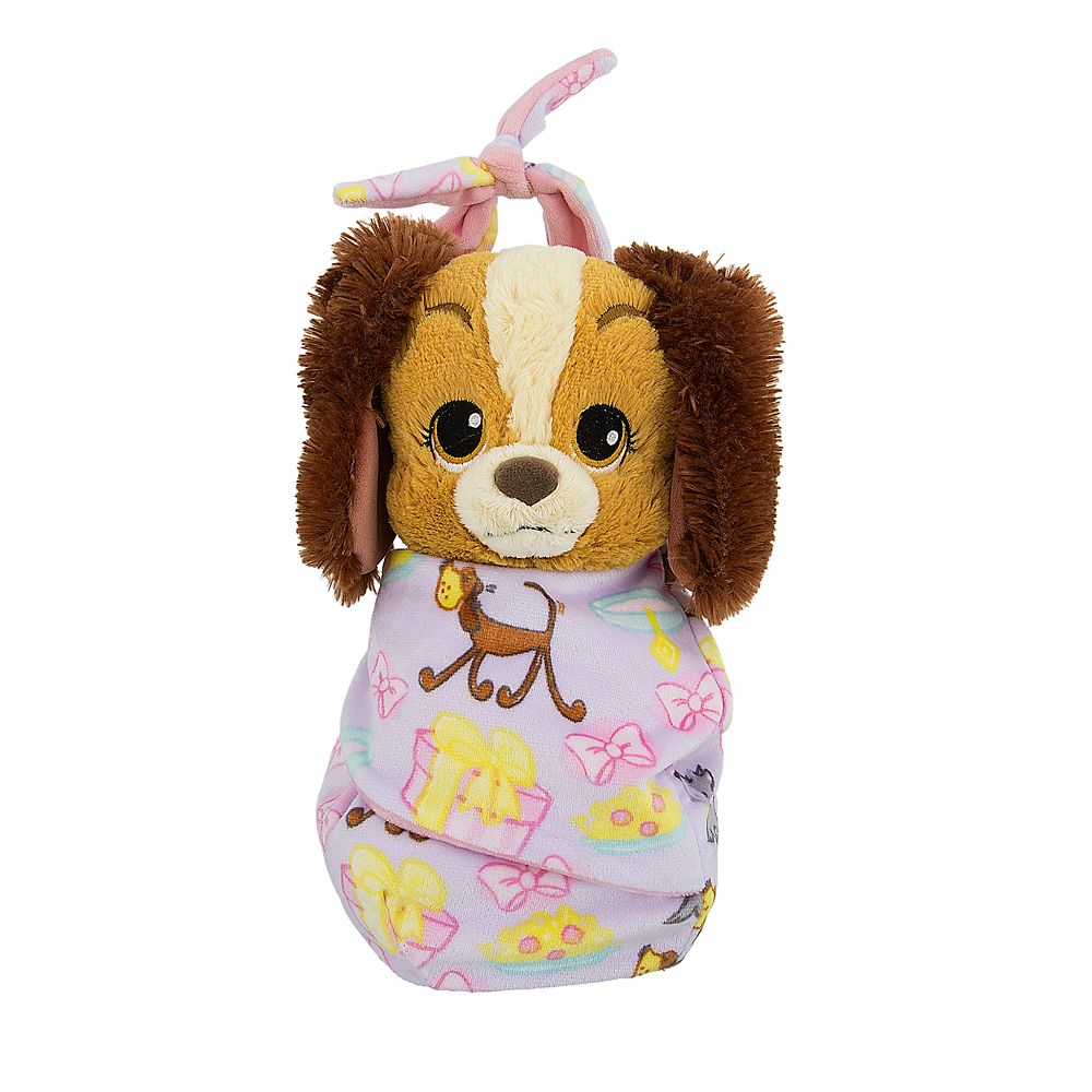 Lady Plush with Blanket Pouch  Disney's Babies  Small