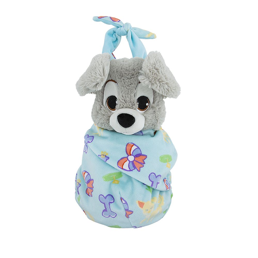 Scamp Plush with Blanket Pouch – Disney's Babies – Small