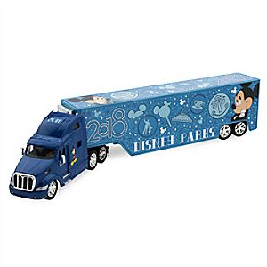 Mickey Mouse Peterbilt Hauler Truck - Disney Parks 2018 7512057370209P