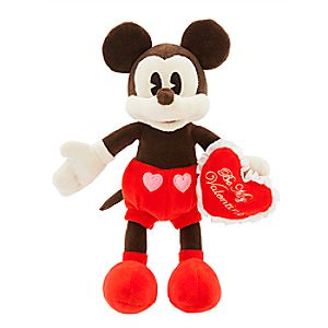 Mickey Mouse Valentine Plush - Small