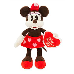 Minnie Mouse Valentine Plush - Small