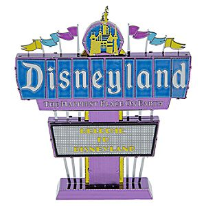 Disneyland Sign Metal Earth 3D Model Kit 7512057371127P