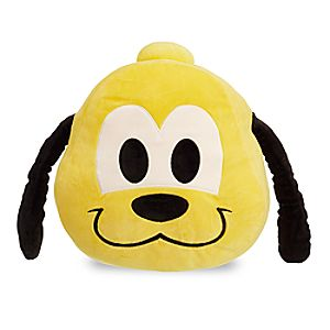 Pluto Emoji Pillow - Medium