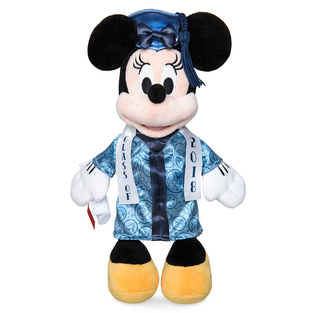 Disney Minnie Mouse Mini Plush Graduation