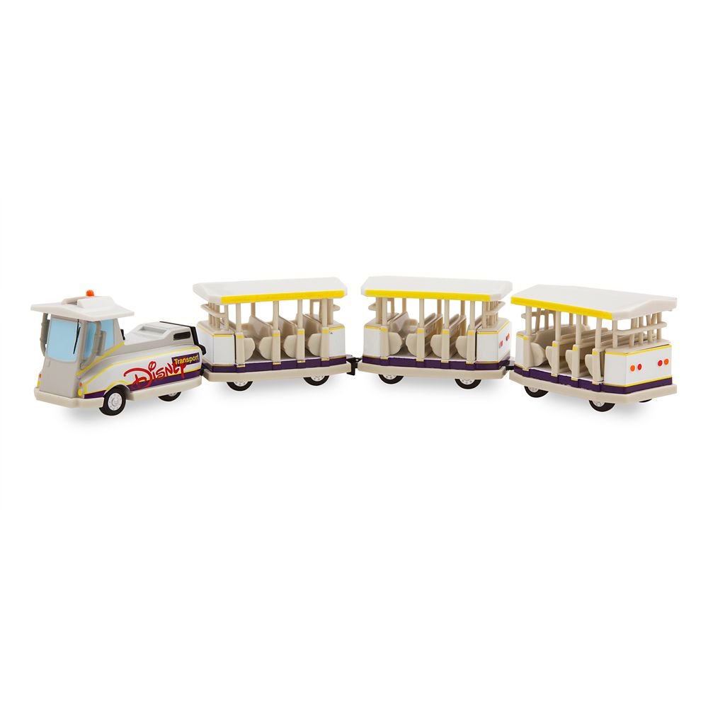 Disney Parks Parking Lot Tram Die Cast Vehicle
