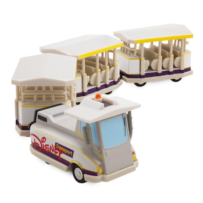 Disney Parks Parking Lot Tram Die Cast Vehicle