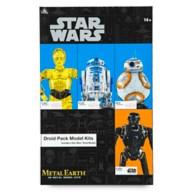 Star Wars Droid Pack Metal Earth 3D Model Kit