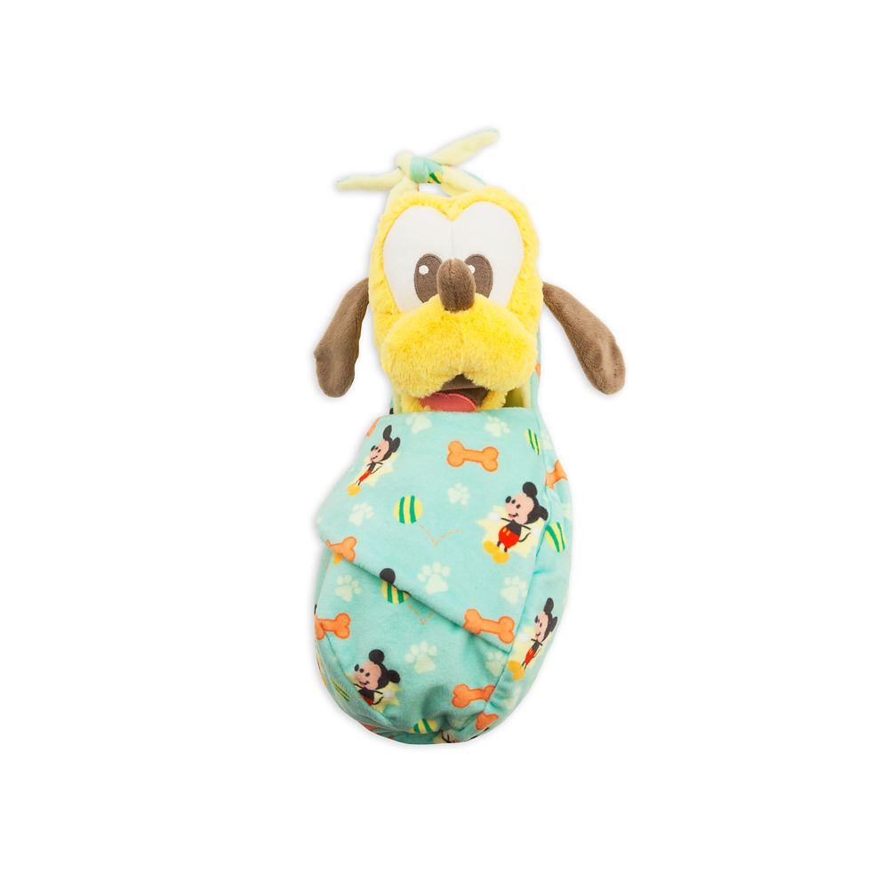 Pluto Plush in Pouch  Disney Babies  Small