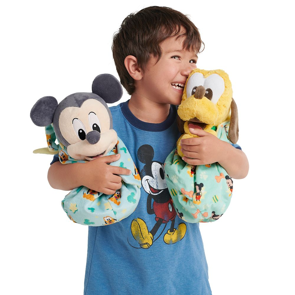 Pluto Plush in Pouch – Disney Babies – Small
