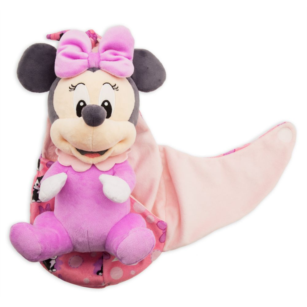 Minnie Mouse Plush In Pouch Disney Babies Small Shopdisney
