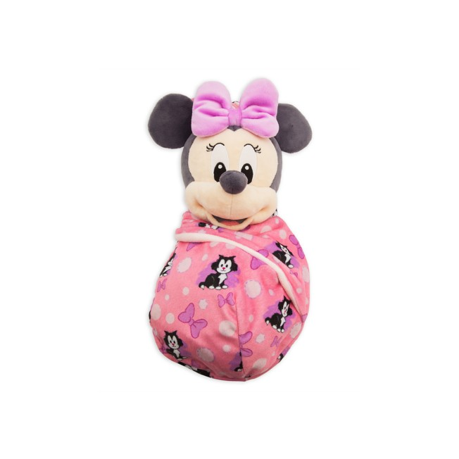 Minnie Mouse Plush in Pouch – Disney Babies – Small
